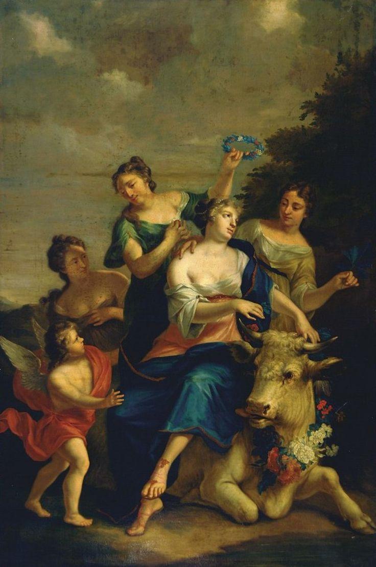 Quinkhard, Jan Maurits - Похищение Европы, 1723, 265 cm x 178,5 cm, Холст, масло Музей Франса Халса в Харлеме