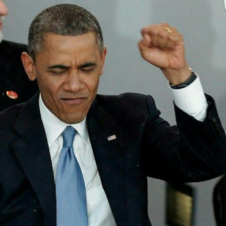 President Obama Fist pump