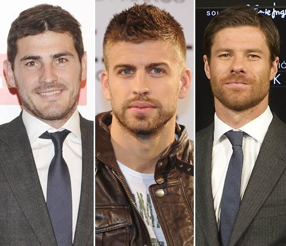 Iker Casillas, Xabi Alonso y Gerard Piqué son los futbolistas españoles más deseados #hombre #men