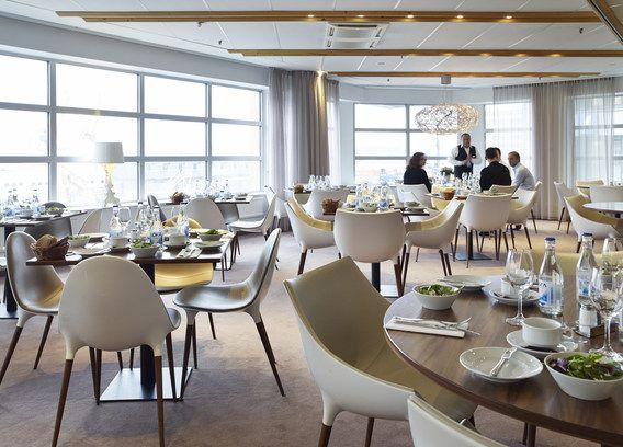 Conference lunch in Riverside restaurant @ Hotel Riverton in Gothenburg