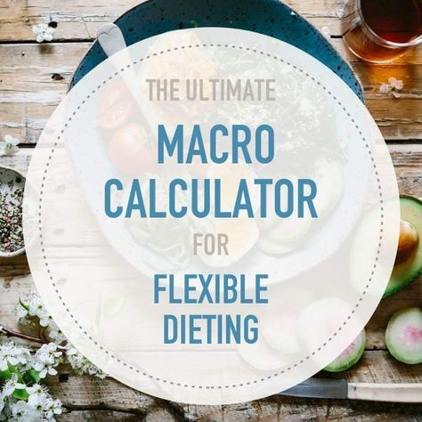 Calculate your macros with this mobile-friendly IIFYM calculator for Flexible Dieting. Lose weight or gain muscle. Adjust protein levels and lean body mass.