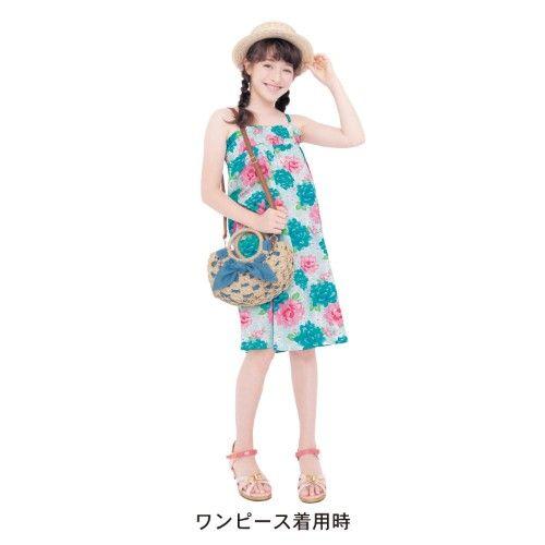 【子供ゆかた】2WAY浴衣セット