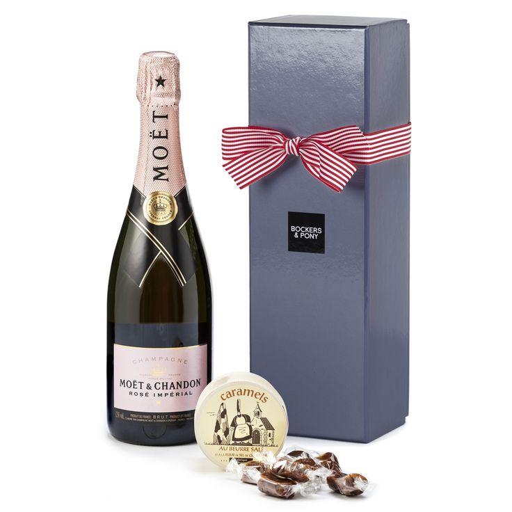 Moet Chandon Rose & Caramels   Hampers   Champagne & Wine Hampers