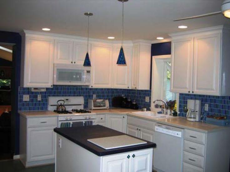Blue Tile Backsplash Kitchen 124 best backsplashes images on pinterest | backsplash ideas