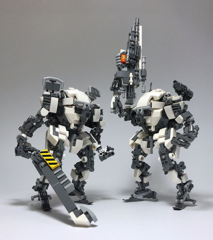 """""""LEGO Robot Mk9-13"""" by ToyForce 120: Pimped from Flickr"""