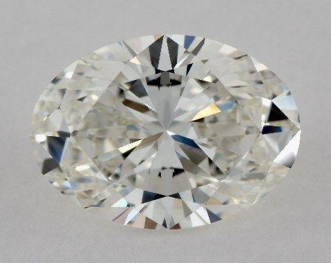 1.55 Carat I-IF Oval Cut Diamond