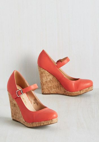 Shoe Got What I Need Wedge With their quirk, class, and vivacious nature, these coral orange wedges satisfy every craving of your wardrobe appetite! Top-stitched vegan faux leather, silver buckles, and cork-inspired heels take these elevated Mary Janes beyond style that you want - theyre a pair you simply must have! The post Shoe Got What I Need Wedge appeared first on Vintage & Curvy . http://www.vintageandcurvy.com/product/shoe-got-what-i-need-wedge