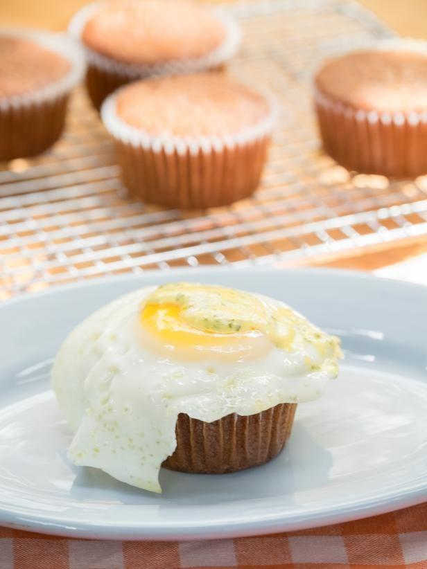 Get Bacon Breakfast Cupcake Recipe from Food Network