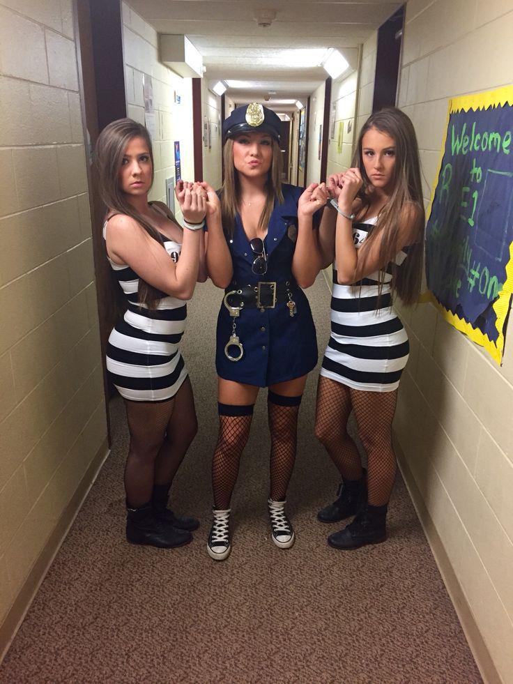 Cops And Robbers Halloween Costume Diy  Halloween  Diy -6080