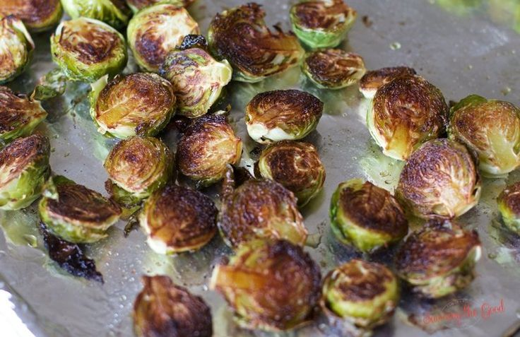 Sheet Pan Roasted Brussel Sprouts Broccoli Recipe