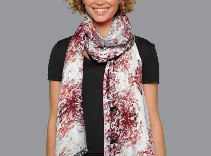 Modal Scarf - Nude Side by VIDA VIDA