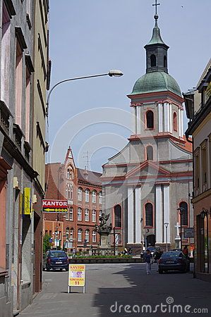 Church Our Lady Of Sorrows  In Rybnik Editorial Image - Image: 54036265