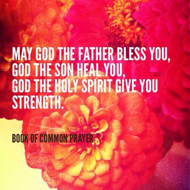 A prayer for health of body and soul.  Book of Common Prayer -- The Episcopal Church  episcopalshare.org
