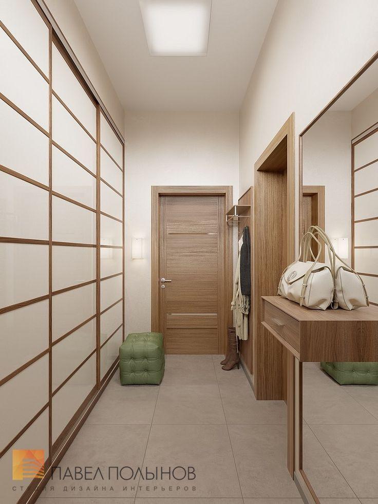 Фото: Прихожая - Интерьер дома в современном стиле, коттеджный поселок «Небо», 272 кв.м.