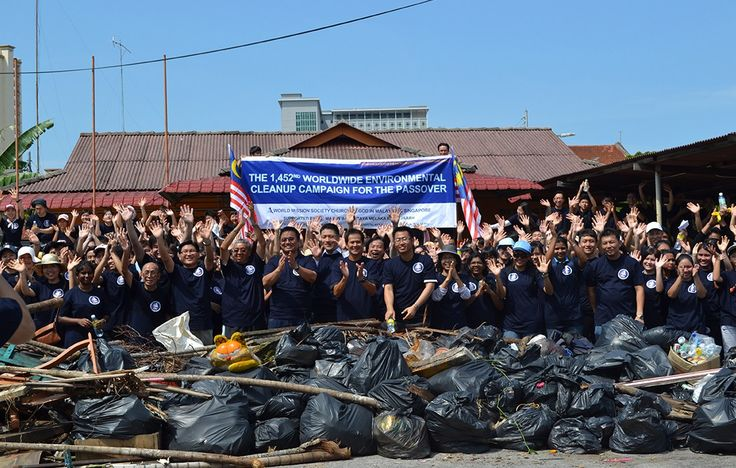 The 1542nd Worldwide Environmental Cleanup Campaign for the Passover was the first joint cleanup event conducted by the World Mission Society Church of God Singapore and Malaysia. About 150 countries participated in this cleanup campaign in their respective countries. The cleanup took place on April 29, 2012, at Malacca, Malaysia.