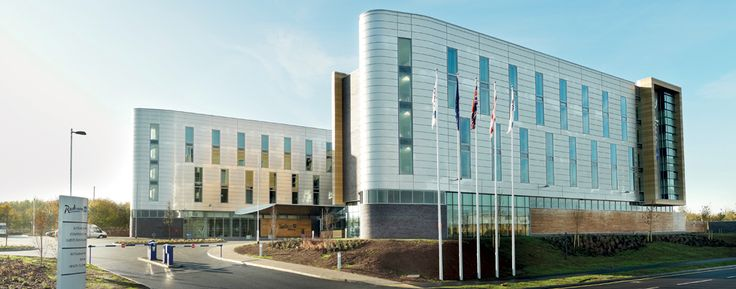 Hotel near East Midlands Airport Terminal Building. Radisson Blu Hotel