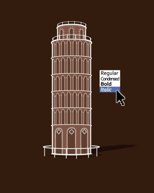 Select Italic. 15 Hilarious Graphics To Brighten Your April Fools