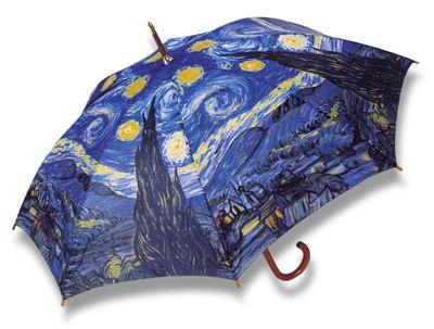 Image result for Salamander Graphix Monet umbrella starry night
