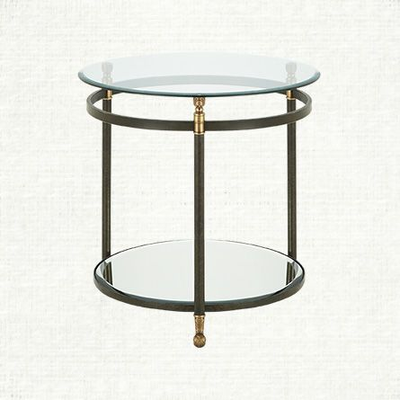 glass end tables for living room. Charlotte 25  Round Glass End Table Best end tables ideas on Pinterest Gold nightstand