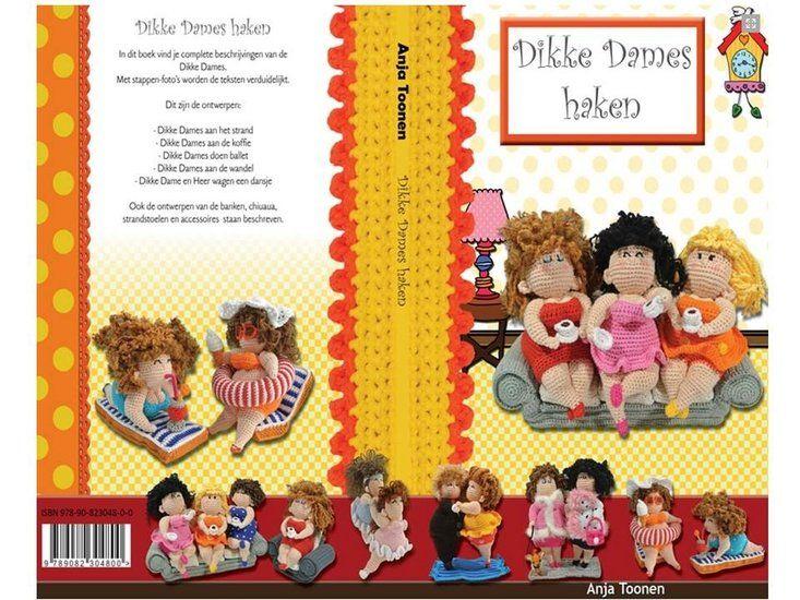 Dikke Dames Haken - Anja Toonen - www.wolwolf.be