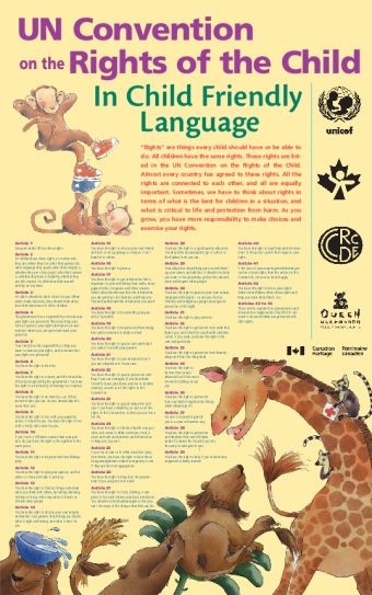 UN Convention on the Rights of the Child In Child Friendly Language   Save the Children's Resource Centre