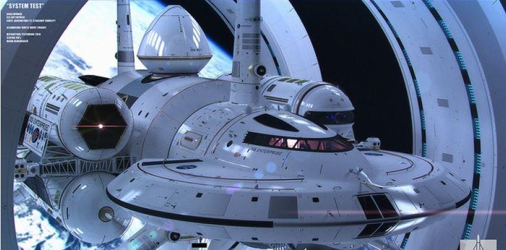 Contracter l'espace pour voyager façon Star Trek ? La Nasa y pense. En 1994, le physicienmexicainMiguel Alcubierrea théorisé la possibilité d'étirerl'espace, de manière à ce que celui-ci se contracte à l'avant d'un hypothétique vaisseau spatial, et qu'il s'allongederrière lui. Le vaisseau spatial serait à l'intérieur d'une sorte de bulle d'énergie négativequisurferait sur la vague d'espace ainsi modifié. Le vaisseau lui-même ne bougeant pas à l'intérieur de sa bulle...