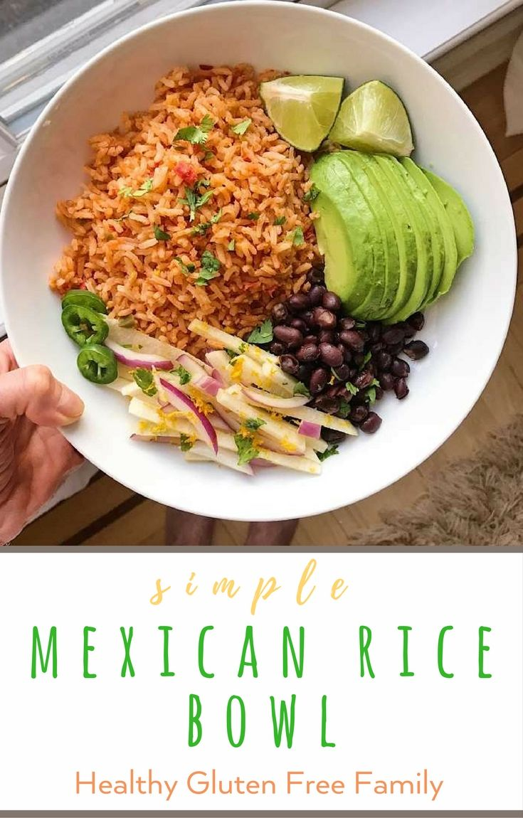 The Mexican Rice is a fan favorite -- super easy to make and packed with flavor. The jicama slaw is a great add to many dish --Crunchy, tangy and yummy. Both recipes adapted from America's Test Kitchen, Serve with black beans or grilled chicken, plus some guacamole or avocado. #glutenfree