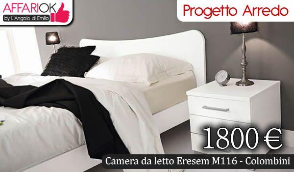Camera da letto Eresem M116 - Colombini http://affariok.blogspot.it/2015/05/camera-da-letto-eresem-m116-colombini.html