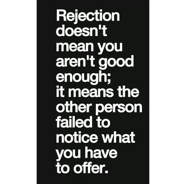 76 Best Quotes; Rejection Images On Pinterest
