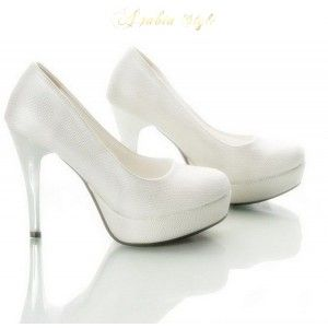Chaussure à talons blanche <3 Perfection *-*