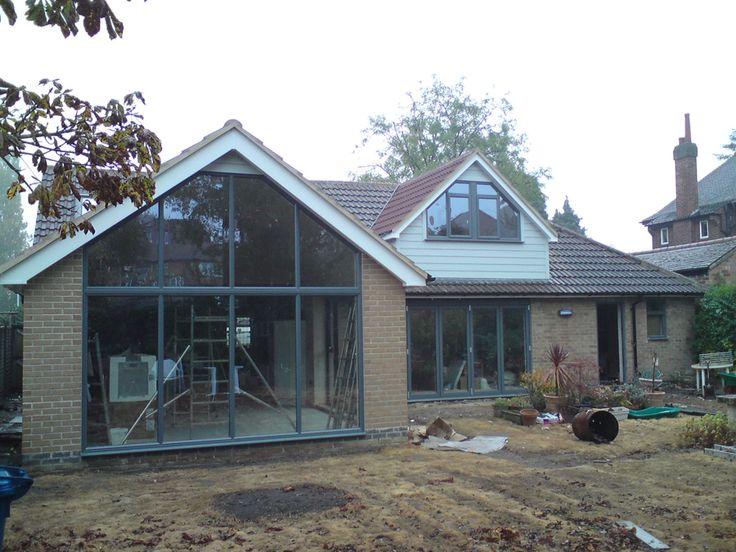 47 best bungalow conversion images on pinterest bungalow - Bungalow extension designs ...