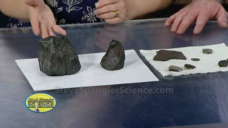 A Meteorite Hit My House - Cool Science Experiment