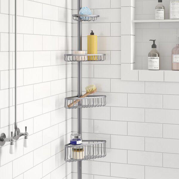 Norris Shower Caddy Shower Caddy Corner Shower Caddy Bathtub