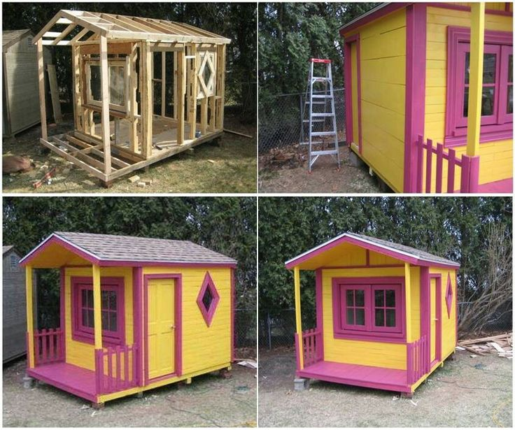 Pallet kids fort or shed | Summer projects | Pinterest