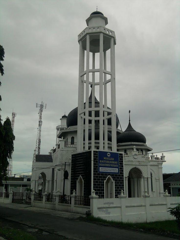 Masjid Baiturrahman in Jogjakarta, Indonesia