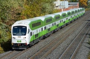 THE first of 67 Bombardier double-deck driving trailers ordered by Toronto and Hamilton transport authority Metrolinx entered passenger service with Go Transit.