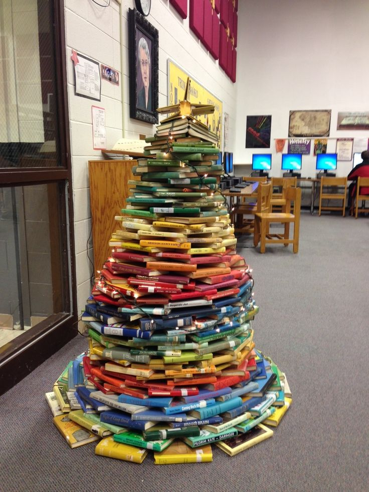 Christmas Decorations For School Library ...