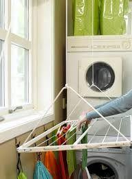 Bilderesultat for takhengt tørkestativ til vaskerom