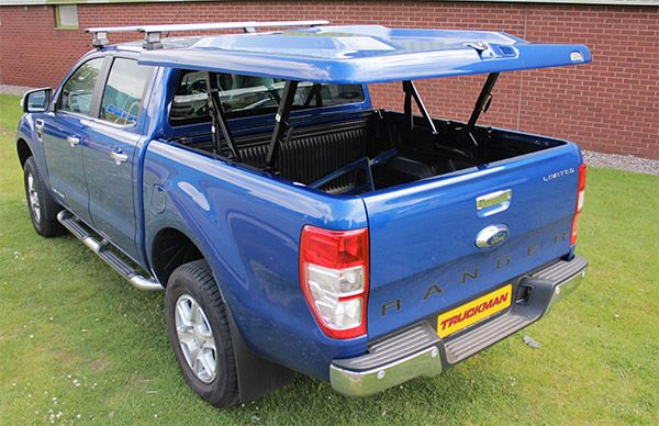 Truckman Storage Solutions: Max High Line Tonneau Cover