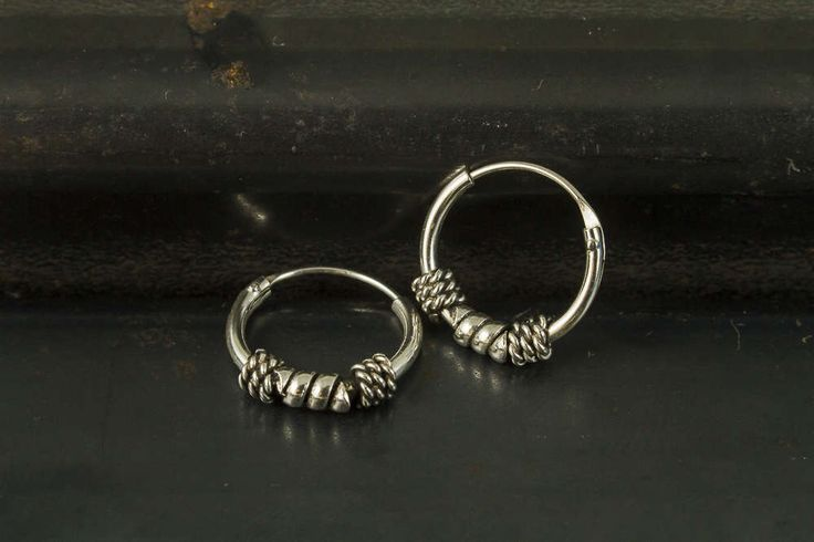 A personal favorite from my Etsy shop https://www.etsy.com/listing/508925844/12mm-bali-hoop-earrings925-sterling