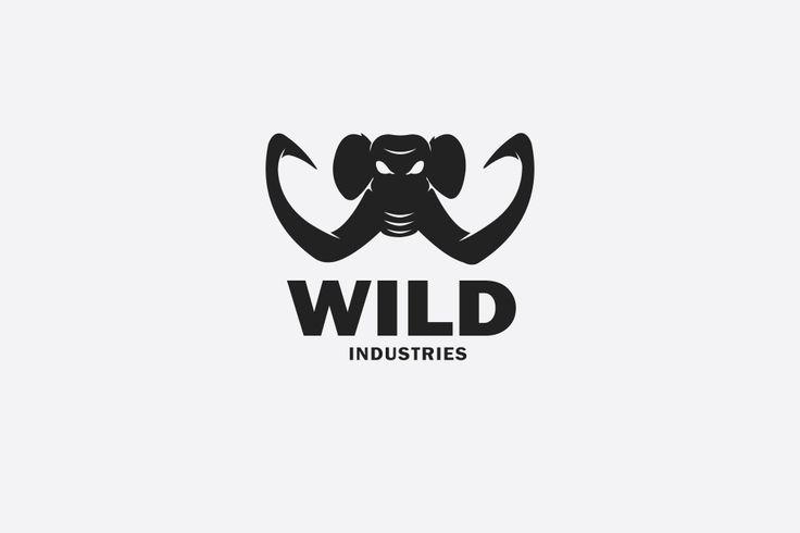 Wild Industries logo Concept