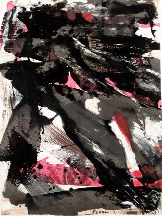 Marcelle Ferron (1924-2001) – Sans titre (1979). Follow the biggest painting board on Pinterest: www.pinterest.com/atelierbeauvoir