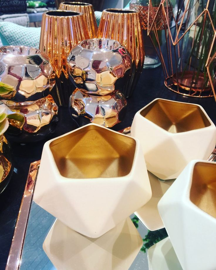 Rose Gold Decorations - Olive Rose Weddings