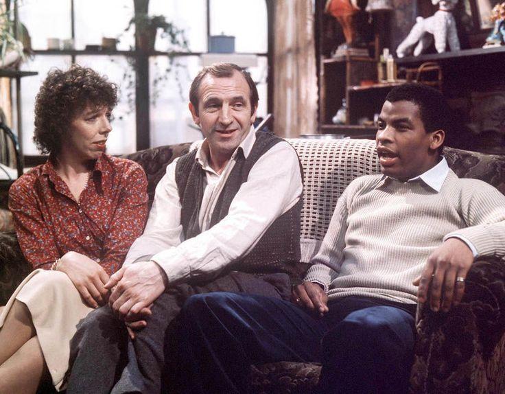 Frances de la Tour, Leonard Rossiter, Don Warrington in Rising Damp  - 1978