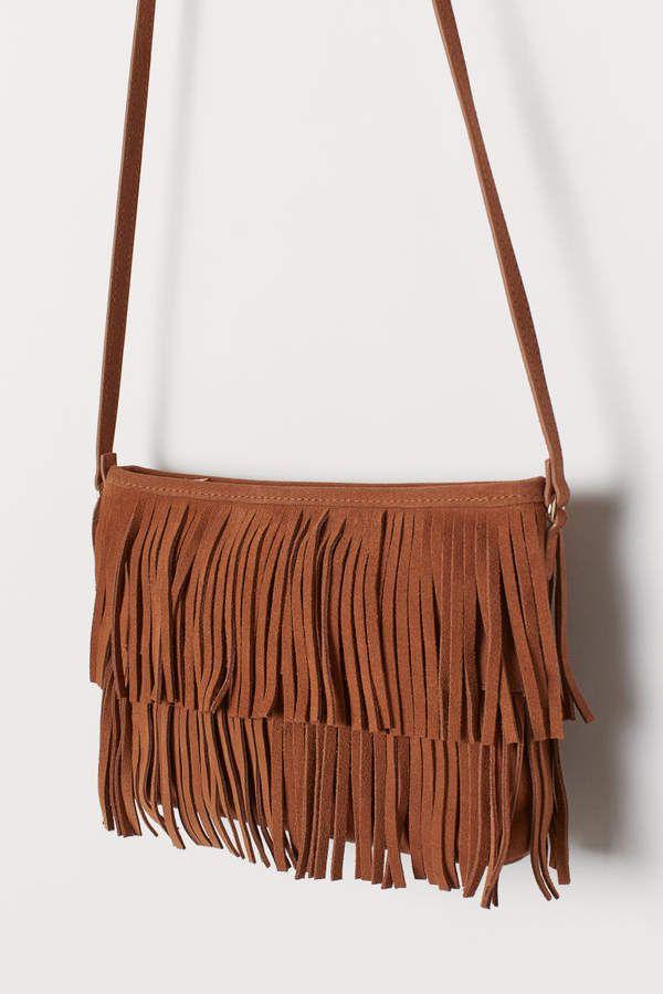 H&M Suede Shoulder Bag – Yellow