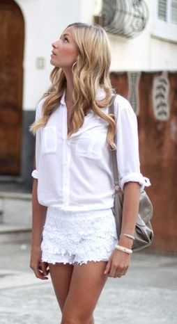 Best 25  White lace shorts ideas on Pinterest | Shorts, Cute ...