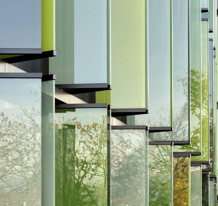 Glass Louver Facade : Best facade vertical louver images on pinterest