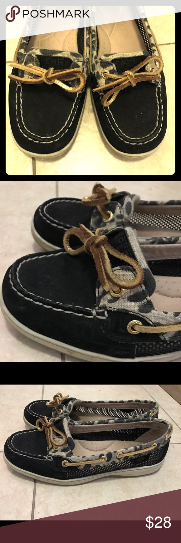 Sperry Top-Sider Women's Angelfish Boat Shoe Sperry Top-Sider, Women's Angelfish Boat Shoe. Size 8 1/5 in great condition. No scuffs, tears etc. Sperry Top-Sider Shoes Flats & Loafers
