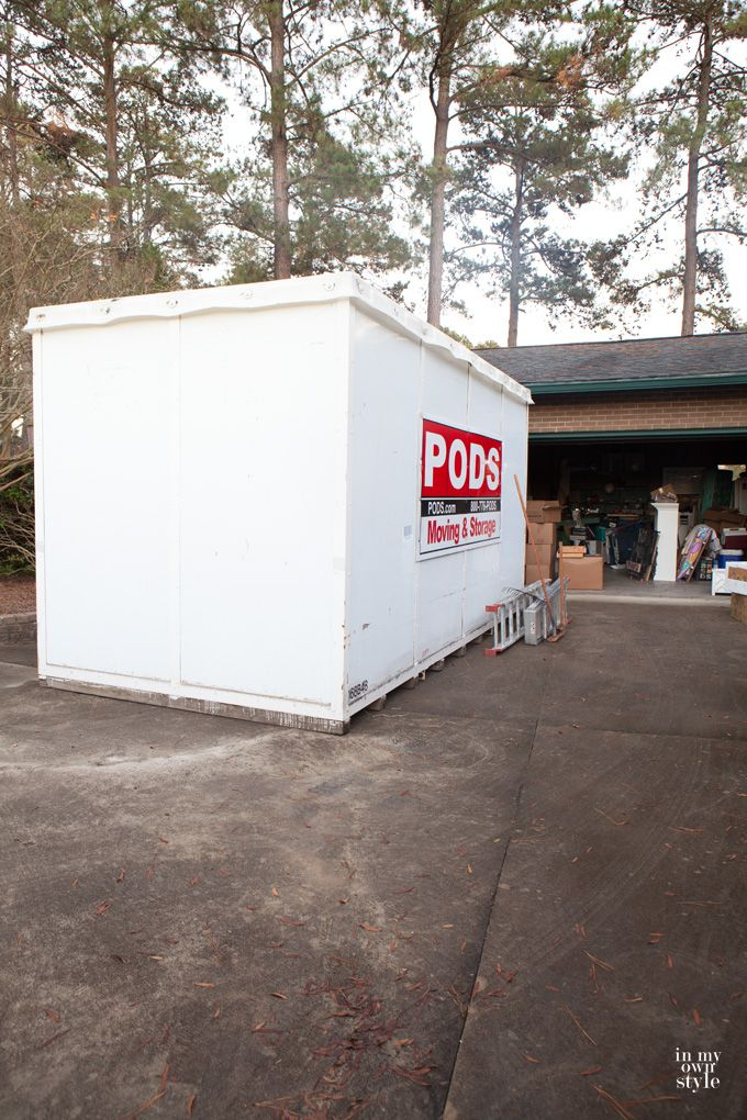 PODS moving and storage review