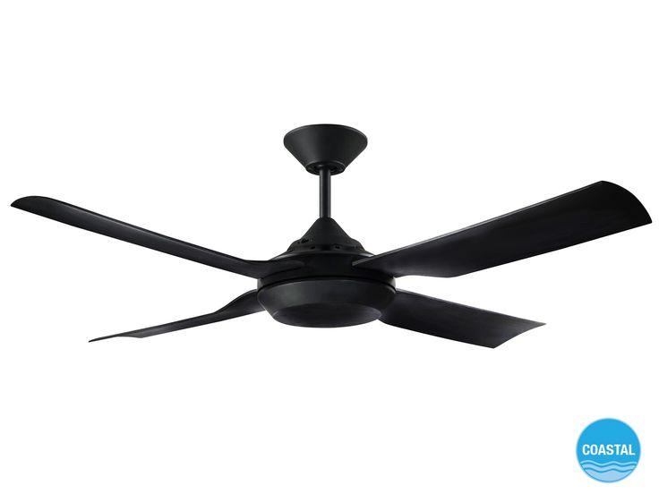 Moonah 122cm Fan only in Black Sale $139